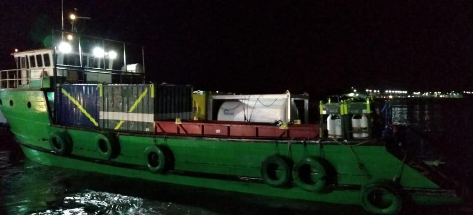VÍDEO - Embarcação Sem Limites 2013